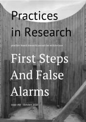 cover of Practices in Research - #01 - First Steps and False Alarms